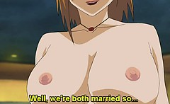 Huge titted hentai babe tittyfucks and rides guys hard cock