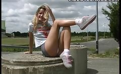 sexy teen naked outdoor