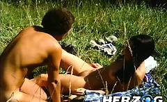 Heidi gets fucked hard and deep in the mountains