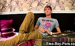 Twink video Connor Levi is one slim and super-sexy British g