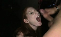 Amateur Girl Gets Fucked By Stripper At The Club