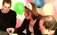 Group of sexy amateurs playing truth or dare