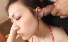Asian Schoolgirl Teen Babe Gets Facial