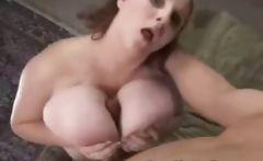 BBW Huge Boobs Titfuck!