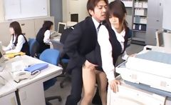 Cute Asian Secretary Fucked