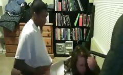Black Guy Pumps His White GF Like Crazy