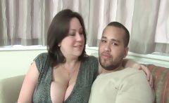 Bbw Mature Making Out With Teen Guy