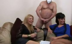 Babes getting cum from guys and cant get enough