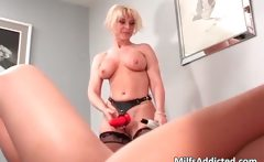 Old milf having hot and wet lesbian sex