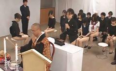 Free jav of Asian girls go to church