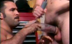 Two kinky gay bear having fun with sex