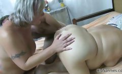 Nasty old whores go crazy getting fucked