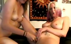 Lesbians Playing With Toys