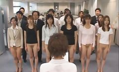 Half nude Japanese chicks showing off
