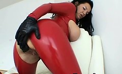 Latex Gal In Wicked Fetish Makeout