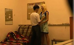 Hidden Cam Records Russian Amateur Couple Home Made Sex